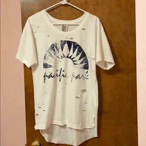 Free people t shirt size xs